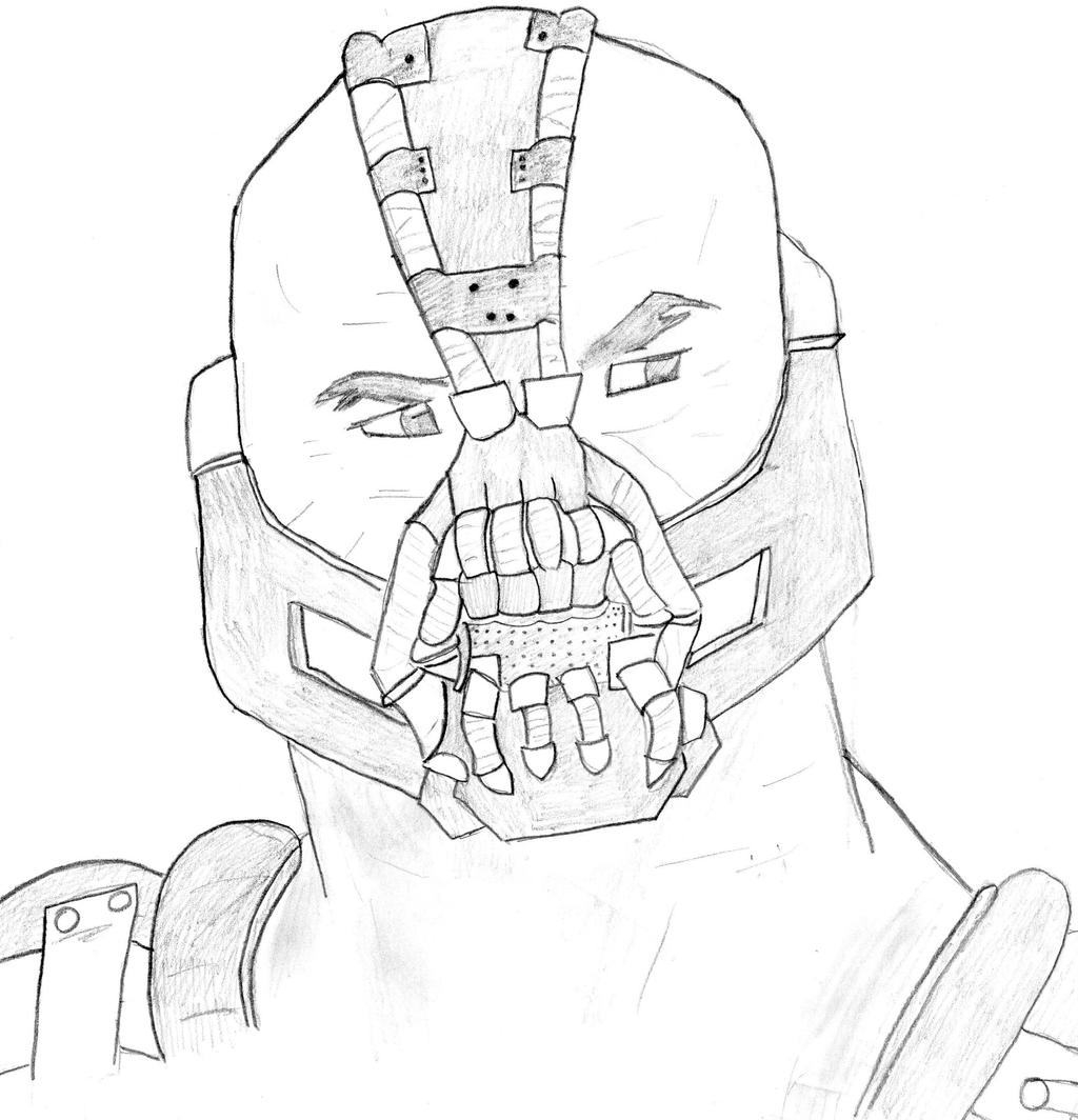 Bane dark knight rises free coloring pages for The dark knight coloring pages