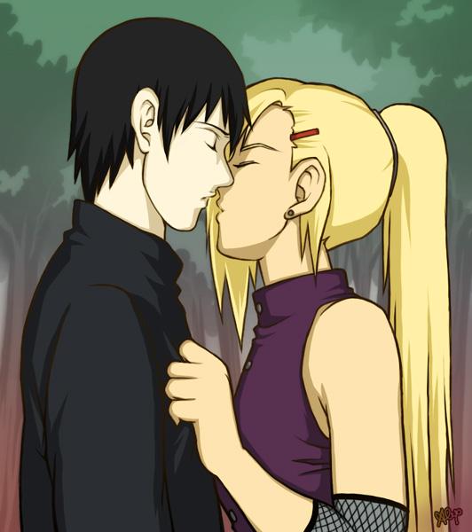 ino x sai kiss by glay on deviantart
