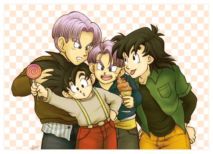 Goten n Trunks Sweet Boys by Glay
