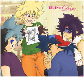 BeyFic Art - The Truth by Glay
