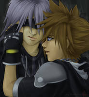 Sora and Riku by Glay