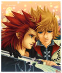 Never Forget :: Axel and Roxas