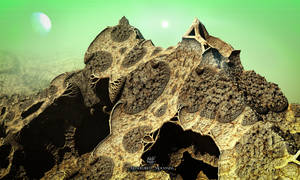 Mandelbrot Mountains by IvanDuran9