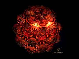 Evil Fireball by IvanDuran9