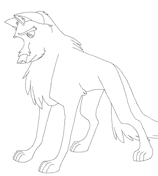 Balto Coloring Pages Steele