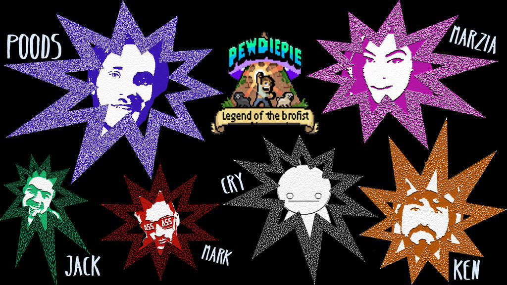 Jacksepticeye Legend Of The Brofist