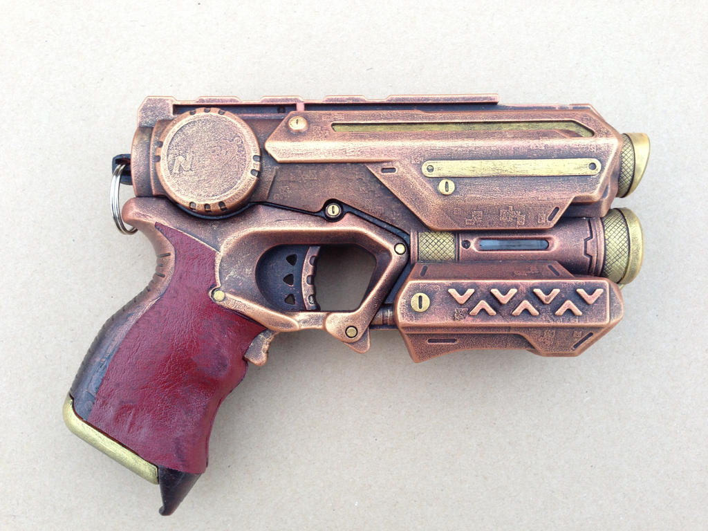 Steampunk Nerf Firestrike Elite by KaitanTylerguy ...