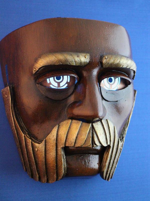 SteamPunk Robot Mask by KaitanTylerguy
