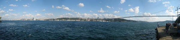 panorama of Istanbul by saggers