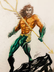 Aquaman (2018) by christheillust