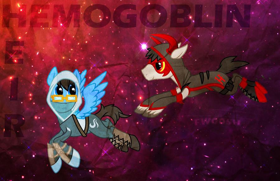 Heir and Hemogoblin - Ponyfied by Stelera
