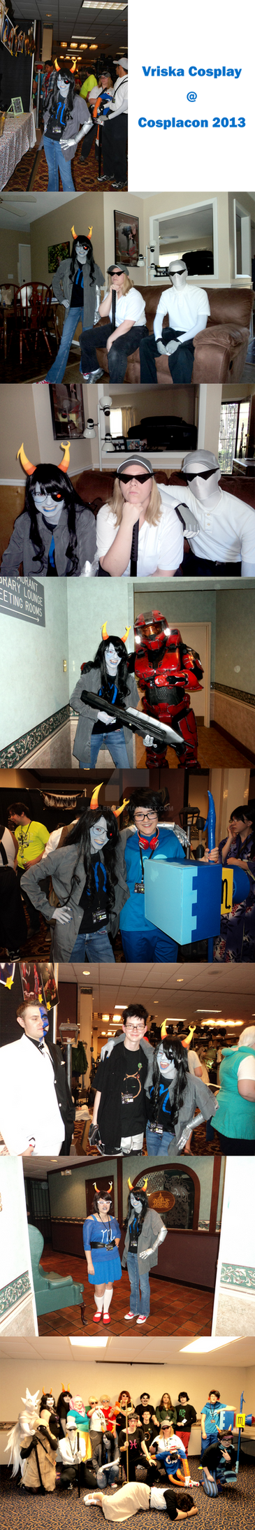 My Vriska Cosplay from Cosplacon by Stelera