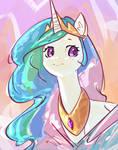 Princess Celestia sketch