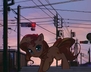 Lights And Wires by mirroredsea