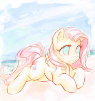 Sketch For Summer by mirroredsea