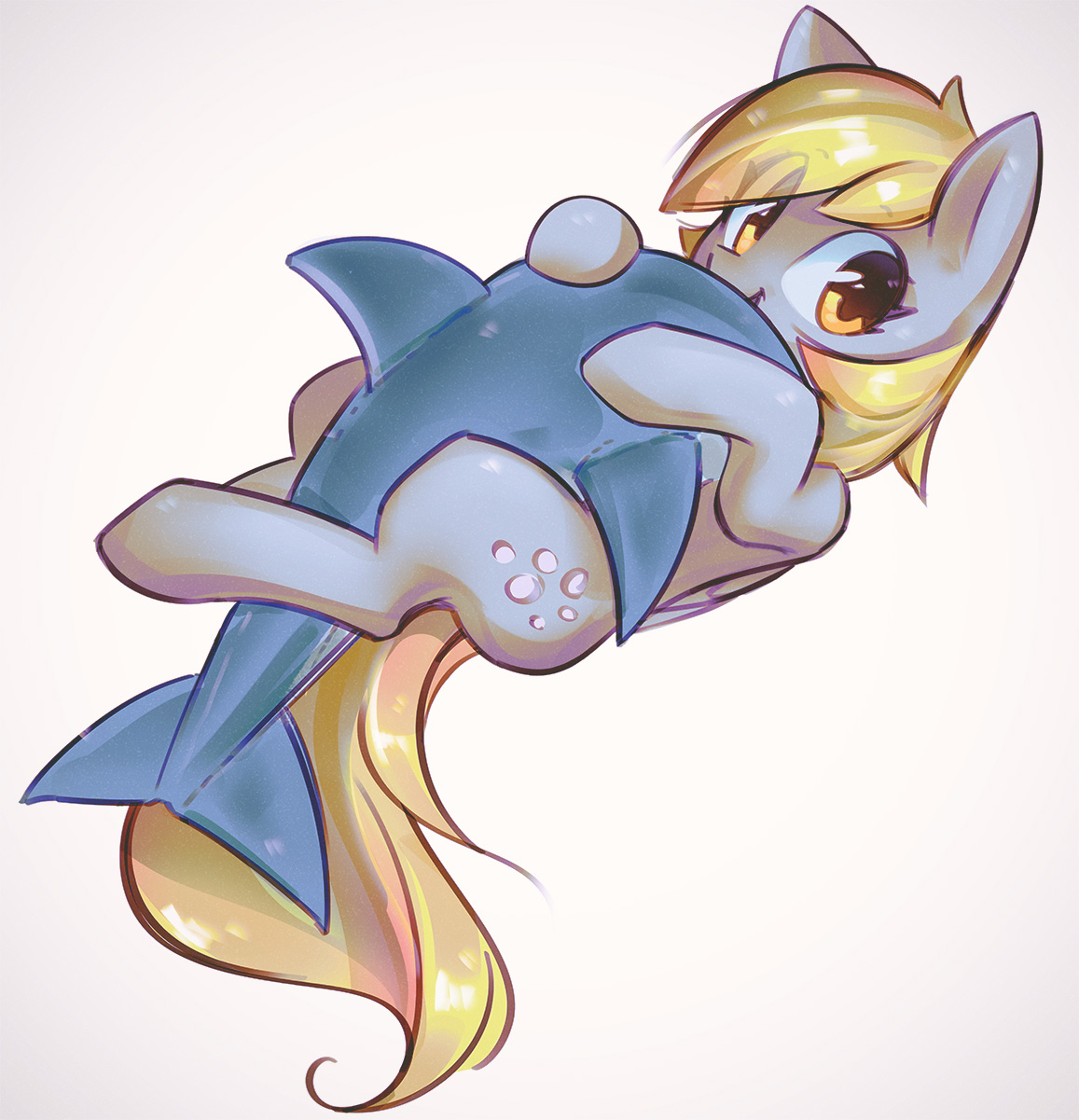 Dolphin Plush by mirroredsea