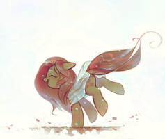 Poplar fluff by mirroredsea