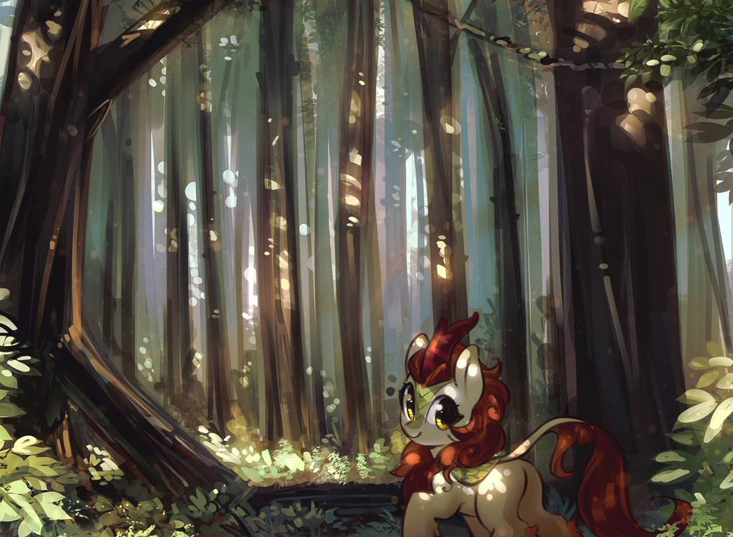 Autumn Blaze by mirroredsea