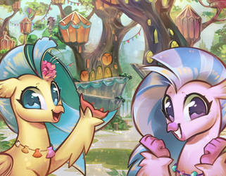 Welcome to Mount Aris! by mirroredsea