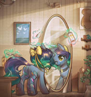Morning Routine by mirroredsea