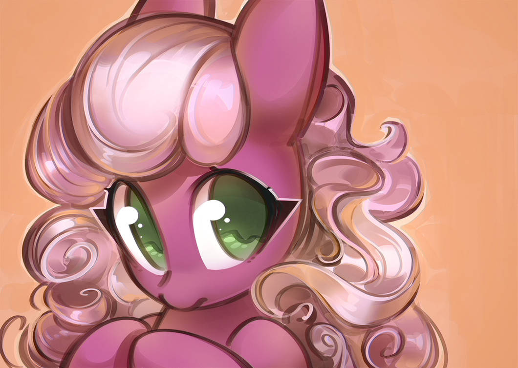 curly_mane_cheerilee_by_mirroredsea_dd52