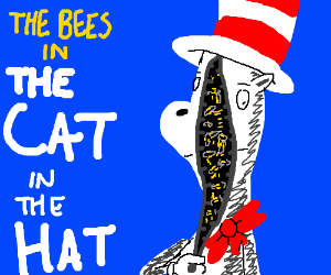 The Bees in The Cat in the Hat by TheMelloyMan