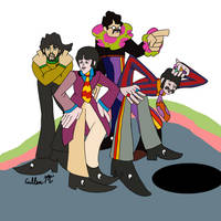 The Beatles Yellow Submarine  by TheMelloyMan