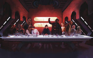 Star Wars - The Last Supper by JaxxTraxx