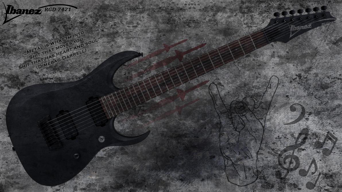 Ibanez Guitar Wallpaper: IBANEZ RGD 7421 E-Guitar Wallpaper 2 By JaxxTraxx On