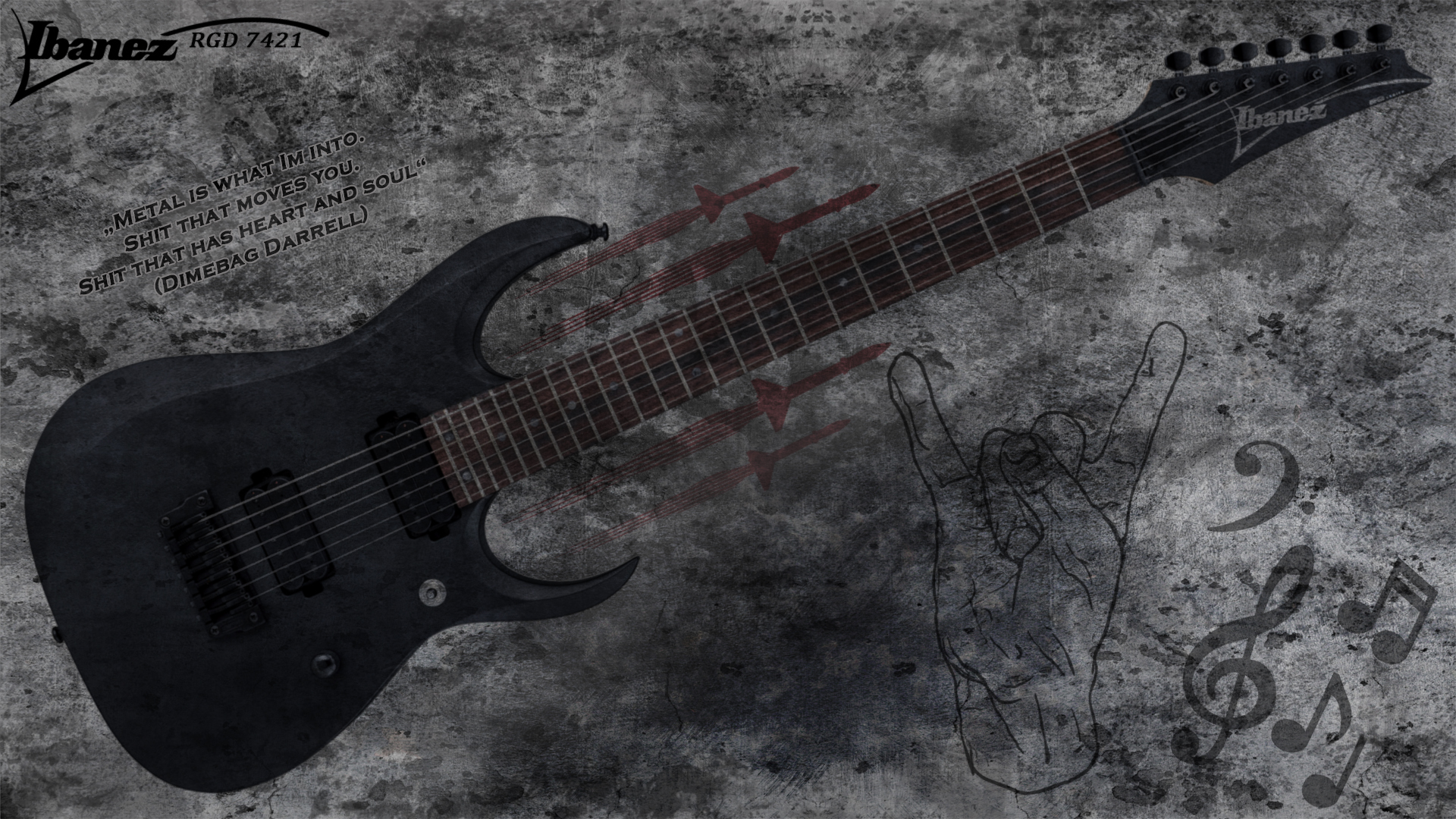 ibanez rgd 7421 e guitar wallpaper 2 by jaxxtraxx on deviantart