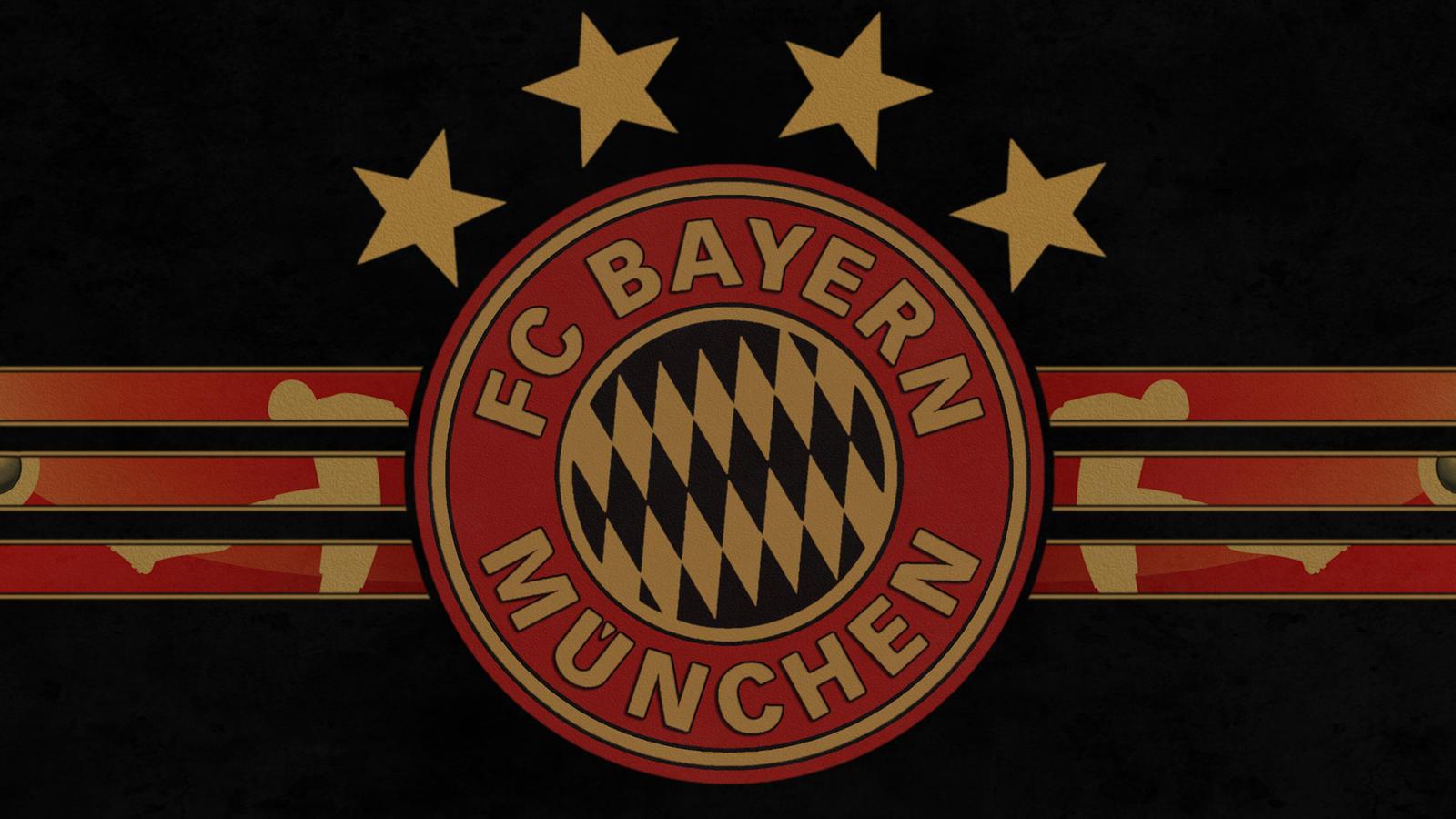 FC Bayern Muenchen Munich Logo RG WP V1 By JaxxTraxx On