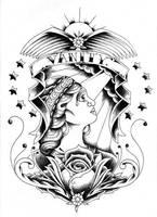 Vanity by scarletandsnow