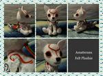 Handmade Amaterasu Felt Plushie