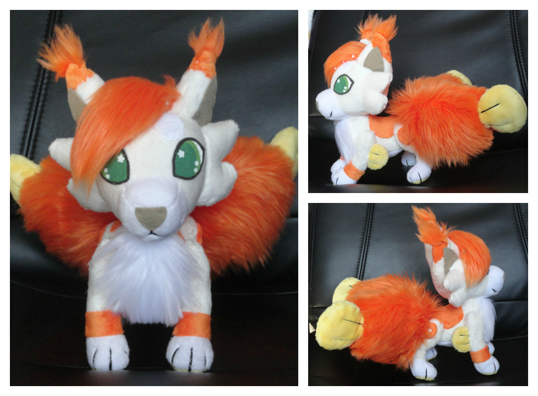 Plushie WIP 3 by foxpill