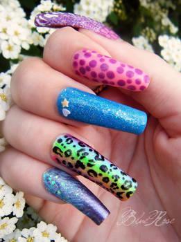 dots..glitter..leopard