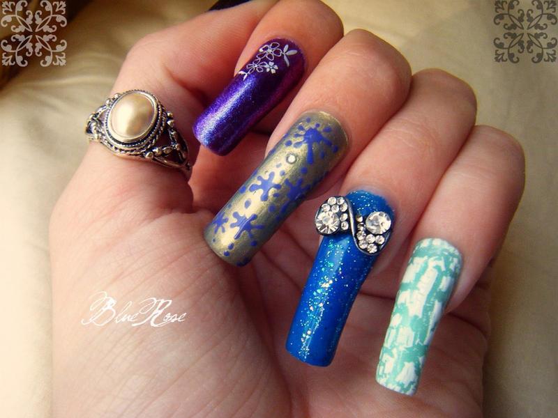Autumn Nails By Roseemma On Deviantart