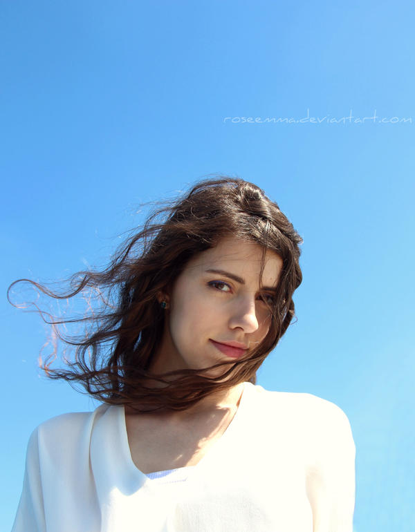 soft blue by RoseEmma