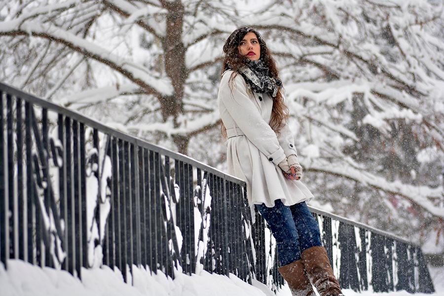 The girl who loves winter