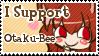 I support Otaku-Bee Stamp by B33B