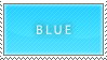 Blue stamp by B33B