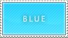 Blue stamp by B33B