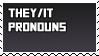 they/it pronoun stamp v1 by B33B