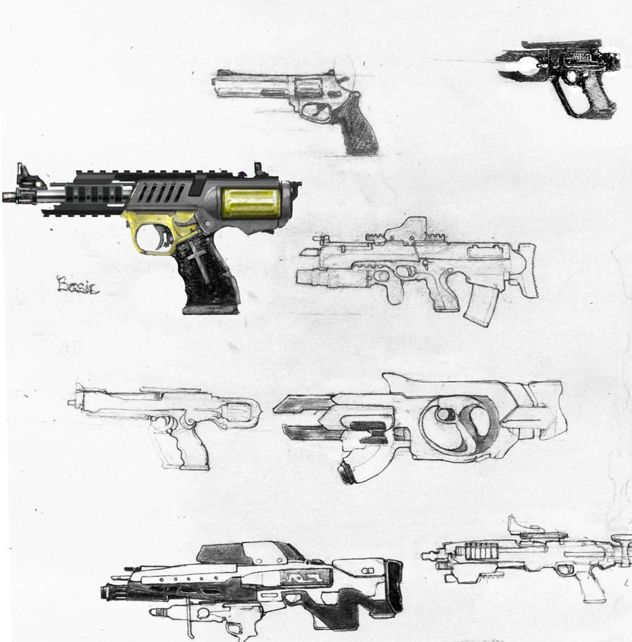Incoming weapons by bflynn22