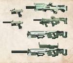 DS Prototype Weapons