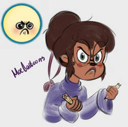Jeanette Expression Meme by Moecartoons