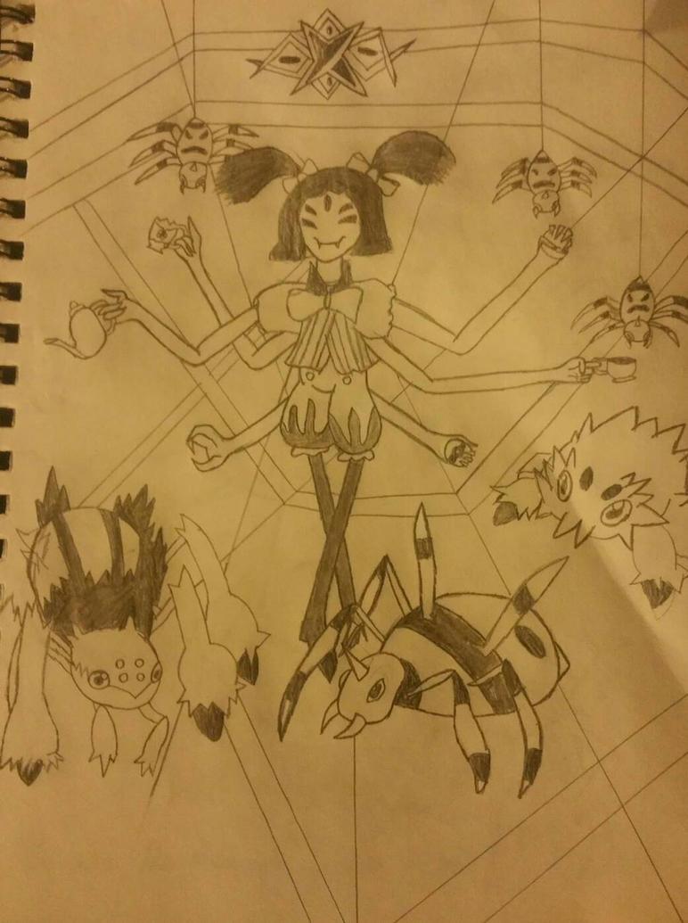 welcome to my spider dance by VincentValentine1295