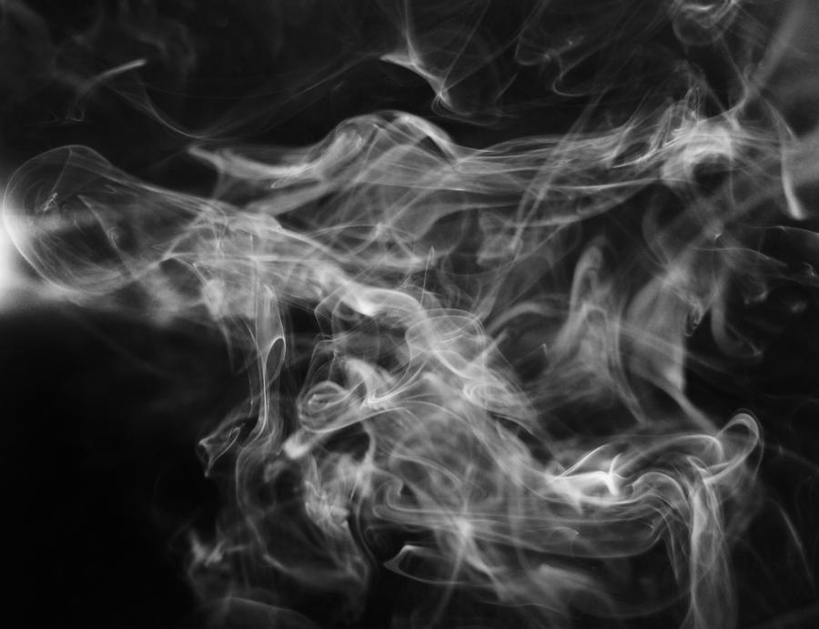 Remarkable vector smoke pictures