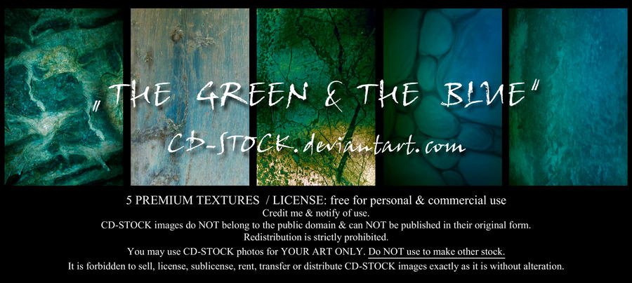 The Green and The Blue by CD-STOCK