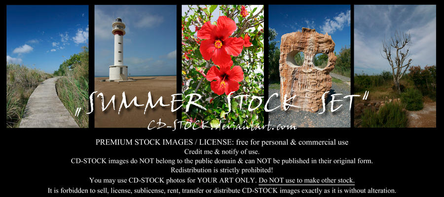 Summer Stock Set by CD-STOCK by CD-STOCK
