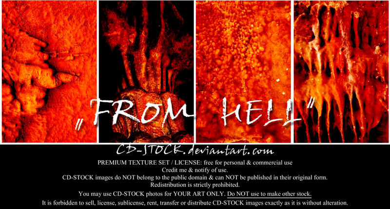 From Hell by CD-STOCK Premium Texture Set by CD-STOCK